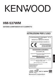 Kenwood HM-537WM - Home Electronics Italian (2005/5/10)