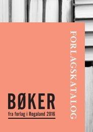 Bøker fra forlag i Rogaland