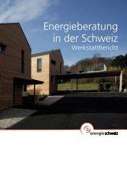 Energieberatung in der Schweiz - Energieberater-Tagung von ...