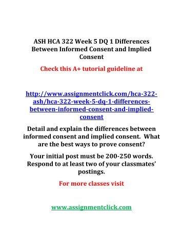hca 322 informed consent
