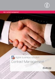 Contract Management - d.velop AG