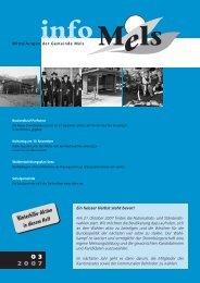 November 2007 - Gemeinde Mels