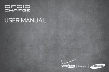 samsung droid charge user manual compare cellular rh yumpu com Verizon Droid Charge Accessories Samsung Droid Charge Specs