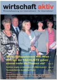 WAktiv 2009 02-07.qxd - RfW Ring Freiheitlicher Wirtschaftstreibender