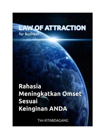 Law Of Attraction - Rahasia Meningkatkan Omset sesuai Keinginan Anda