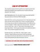 Law Of Attraction - Rahasia Meningkatkan Omset sesuai Keinginan Anda - Page 5