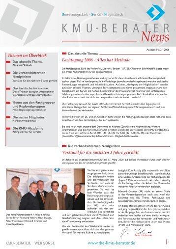 News - Die KMU-Berater - Verband freier Berater e.V.