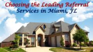 Florida Business Referral