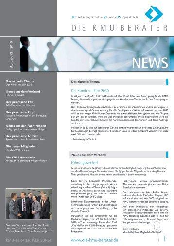 KMU-Berater News - Die KMU-Berater - Verband freier Berater e.V.