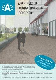 Nieuwsbrief Slachthuissite | Noordschippersdok | Lobroekdok