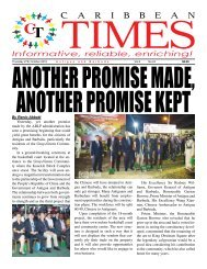 Caribbean Times 24th Issue - Thursday 27th October 2016