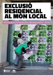 EXCLUSIÓ RESIDENCIAL aL MÓN LOCAL