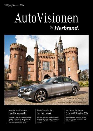 AutoVisionen - Das Herbrand Kundenmagazin Ausgabe 11