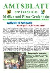 AMTSBLATT Meißen und Riesa-Großenhain der ... - Landkreis Meißen