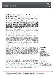 Press Release - d.velop AG