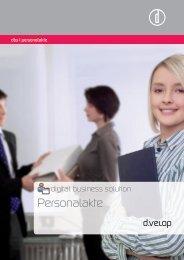 Die digitale Personalakte - d.velop AG