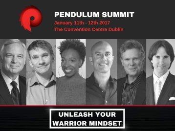 Pendulum Summit 2017 Overview