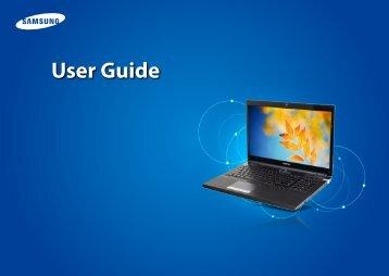 """Samsung Series 7 17.3"""" Gamer - NP700G7C-T01US - User Manual (Windows 8) (ENGLISH)"""