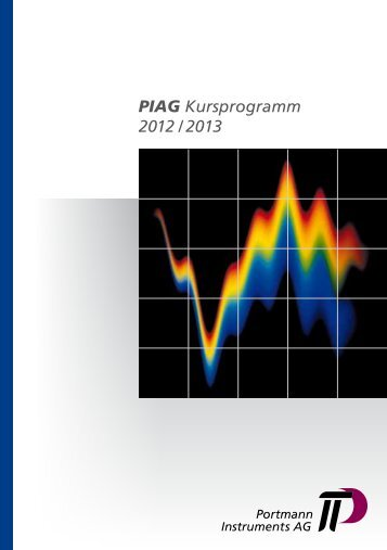 PIAG Kursprogramm 2012 / 2013