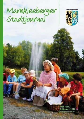 Heft 18/12 September 2012 Heft 18/12 ... - Druckhaus Borna