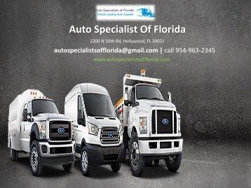 Auto Specialist Of Florida - 2200 N 30th Rd, Hollywood, FL 33021