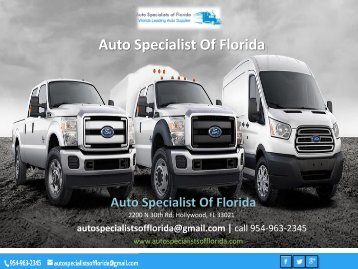 Auto Specialist Of Florida