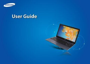 "Samsung ATIV Book 2 (15.6"" HD / Core™ i3) - NP270E5G-K02US - User Manual (Windows 8) ver. 1.4 (ENGLISH,23.03 MB)"