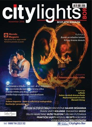 Citylights Bor NOVEMBAR 2016