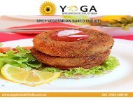 SPICY VEGETARIAN BAKED CUTLETS