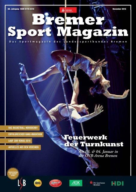 BREMER SPORT Magazin | November 2016