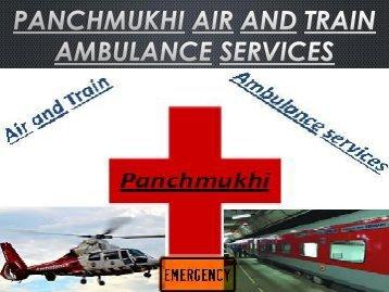 Panchmukhi air and train ambulance services Coimbatore-Jaipur