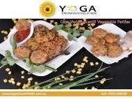 Corn Vadai – Lentil Vegetable Patties
