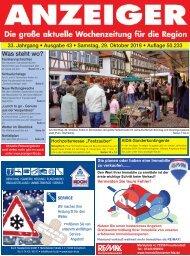 Anzeiger Ausgabe 43/16