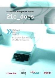 21c_docs Die optimale DMS-Lösung zum - d.velop AG