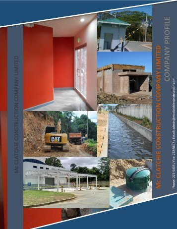 Mcclatchie Construction Company Profile 2016 o1