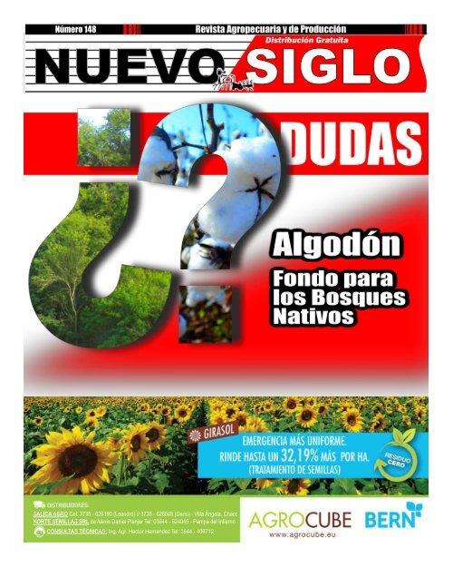 Revista Agropecuaria Nuevo Siglo Número 148 - Octubre 2016