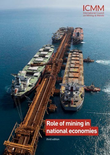 Role of mining in national economies