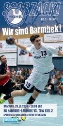 SSSSZACK! HGHB vs. THW Kiel 2