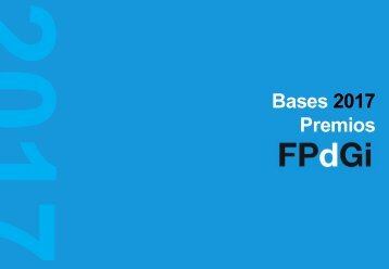 Bases 2017 Premios