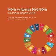 MDGs to Agenda 2063/SDGs