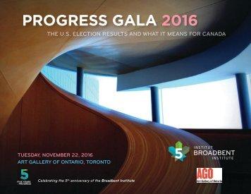 PROGRESS GALA 2016