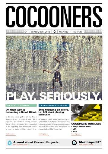 COCOONERS - Making It Happen - No 1, September 2016