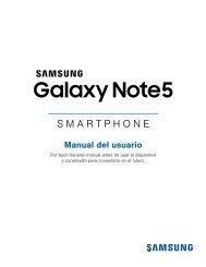 Samsung Samsung Galaxy Note5, 32GB, (AT&T), Gold Platinum - SM-N920AZDAATT - User Manual ver. Marshmallow 6.0 (SPANISH(North America),2.3 MB)