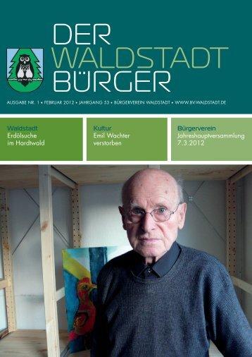 DER WALDSTADT BURGER - KA-News