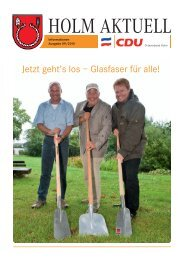 TV · Video · Service Martin Krause - CDU Holm