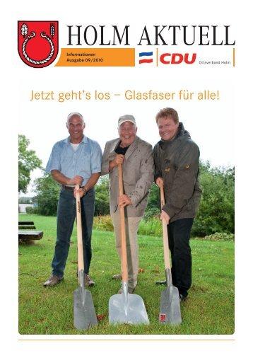 TV · Video · Service Martin Krause - CDU Holm
