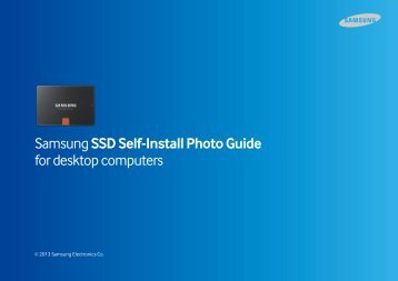 Samsung SSD 840 PRO 2.5-inch SATA 512GB (Basic) - MZ-7PD512BW - Install Guide (Software) ver. Desktop - All Windows / Mac OS (ENGLISH,49.36 MB)