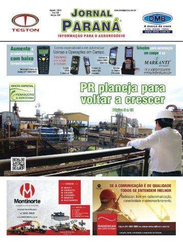 Jornal Paraná Agosto 2015