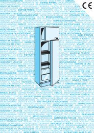 KitchenAid DPA 262 R/H - Fridge/freezer combination - DPA 262 R/H - Fridge/freezer combination EN (853964038000) Mode d'emploi