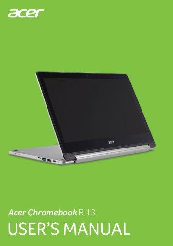 Acer CB5-312T - User Manual